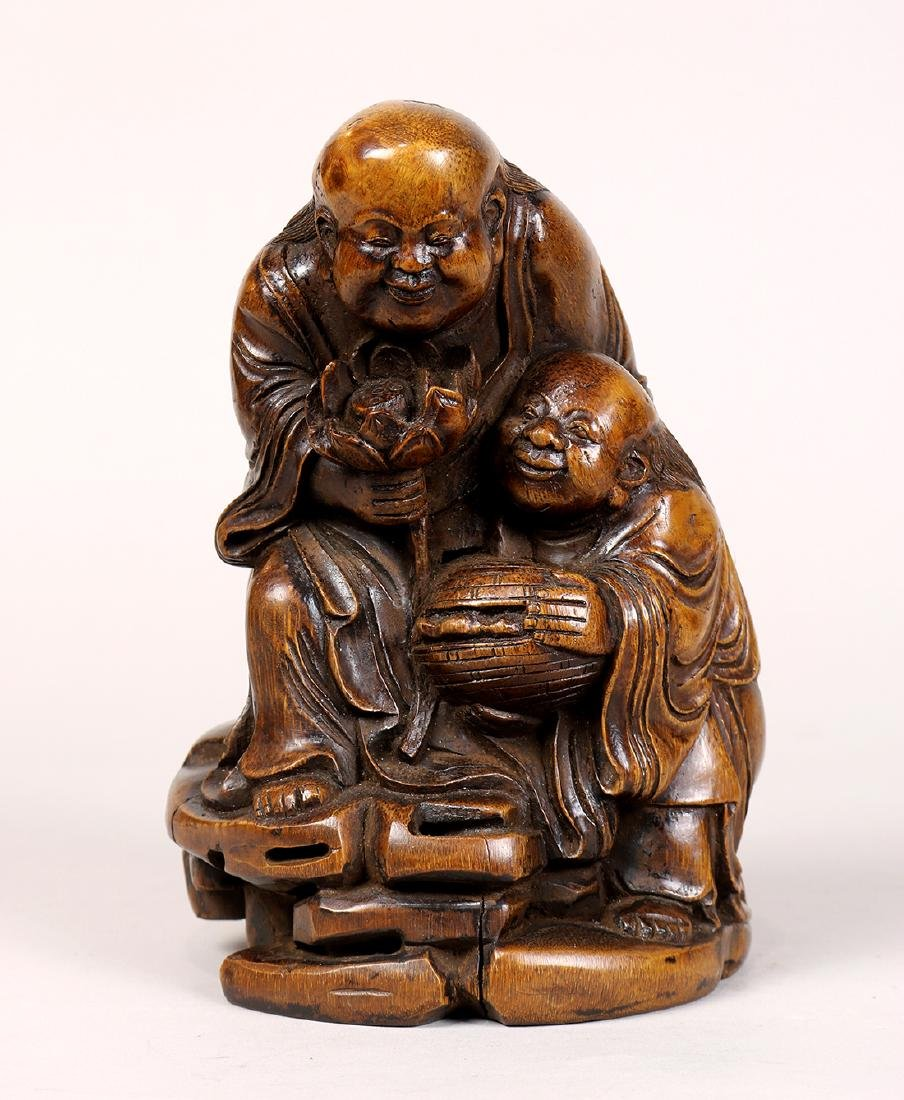 Chinese Bamboo Figures