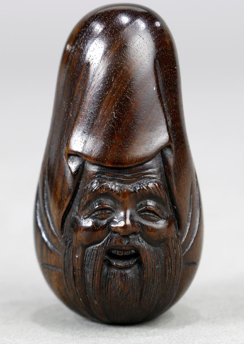 Japanese Wood Netsuke,