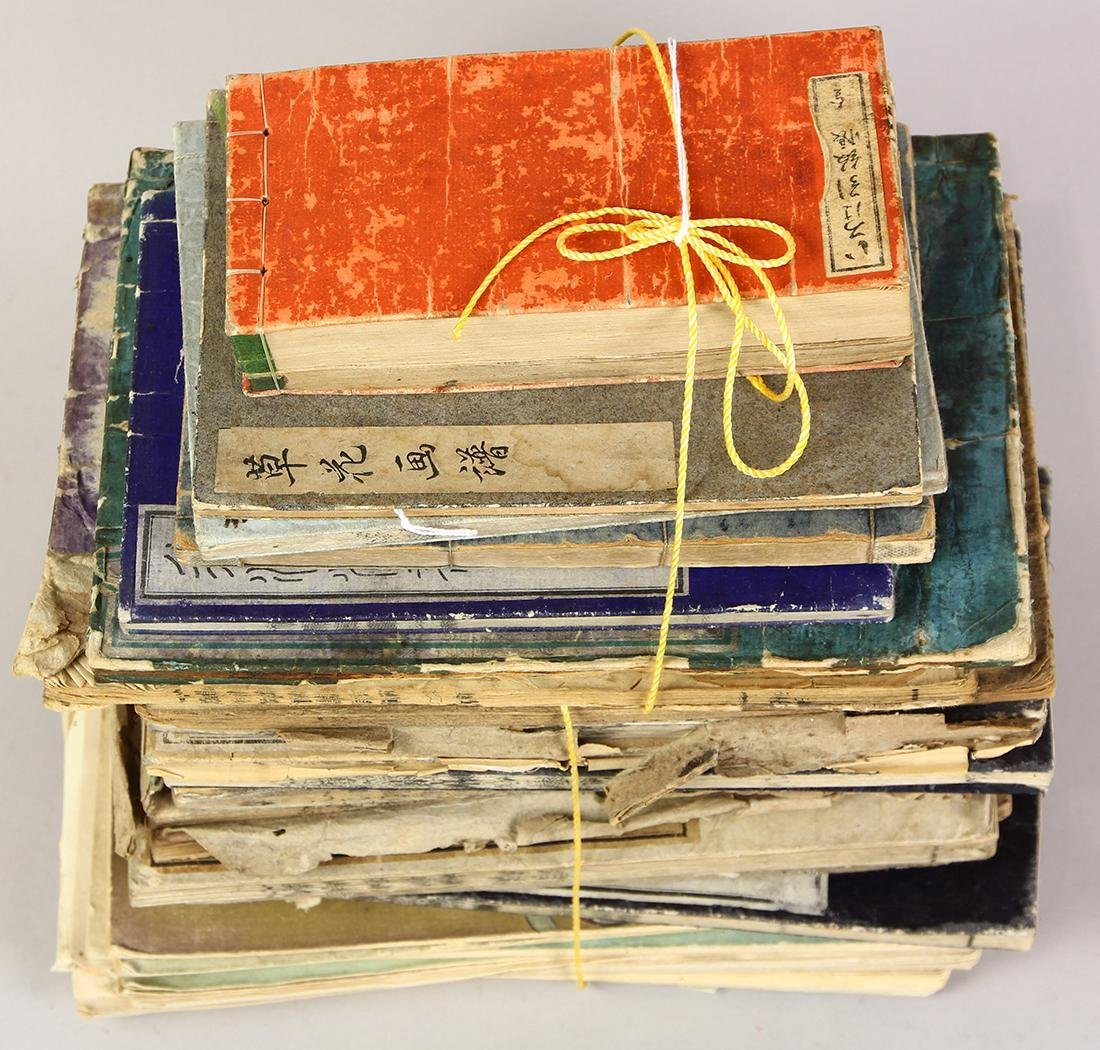 Japanese Books from Meiji period on Various Subjects, - 2