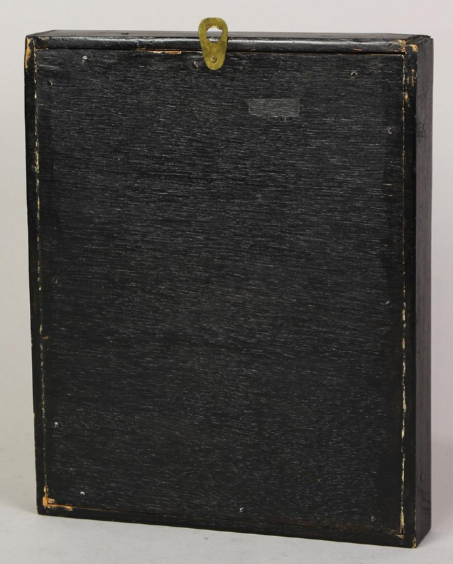 Himilayan Inlaid Gilt Plaque - 2