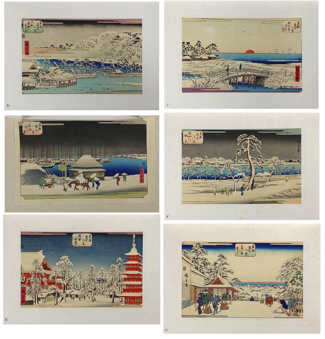 Japanese Woodblock Prints, Hiroshige