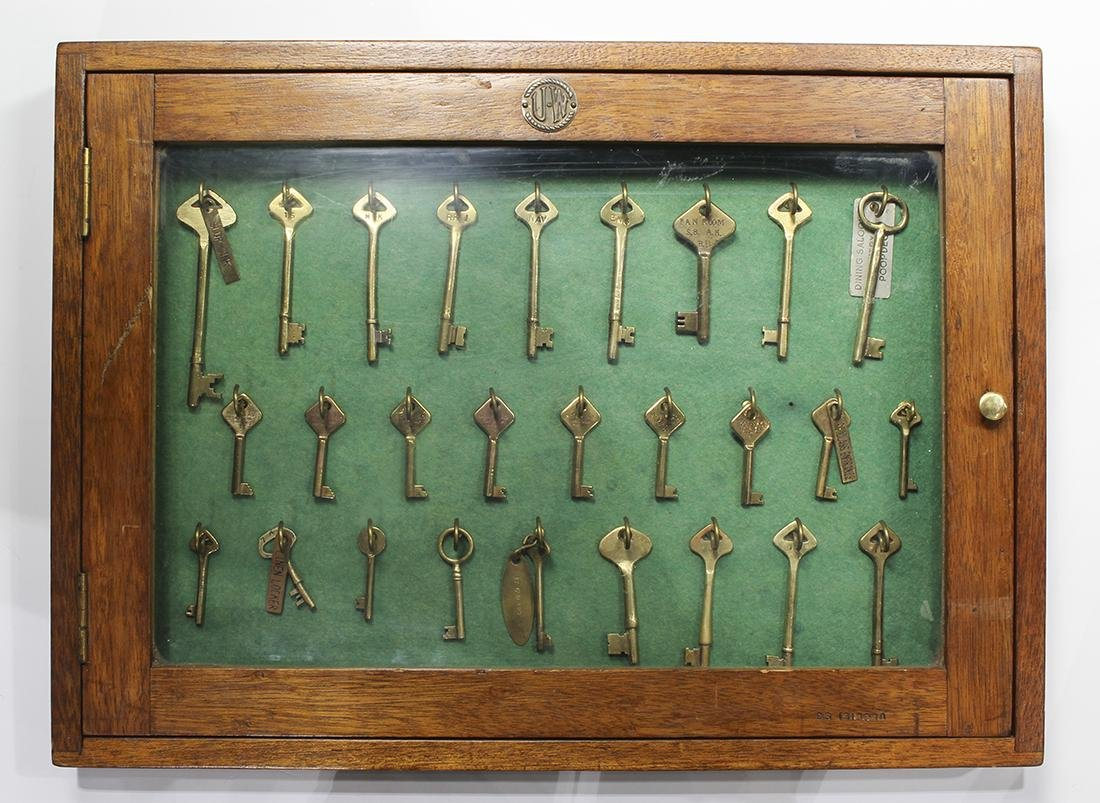 S.S. ISIDORA vintage ship keys