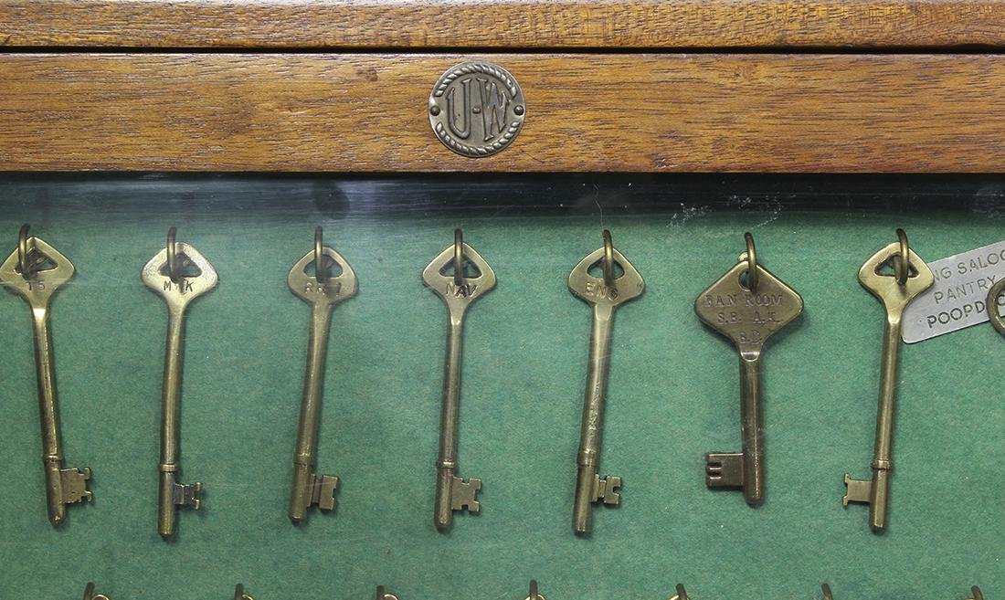 S.S. ISIDORA vintage ship keys - 2