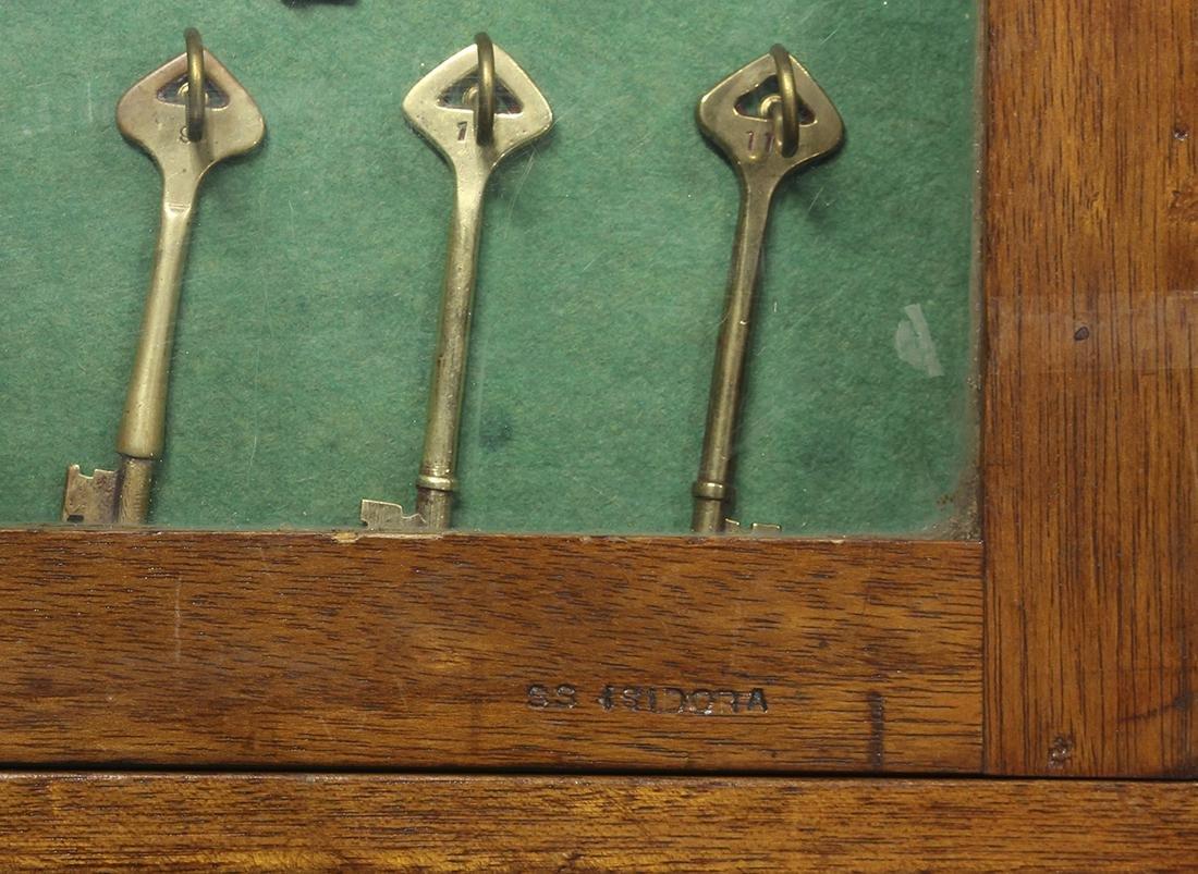 S.S. ISIDORA vintage ship keys - 3
