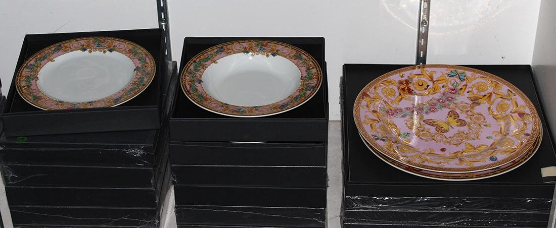 (lot of 36) Versace for Rosenthal porcelain group, - 2