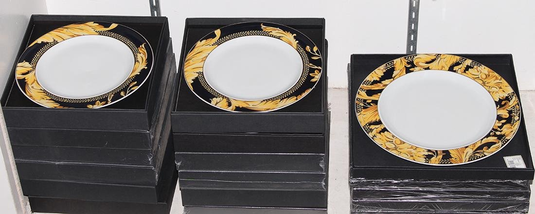 (lot of 60) Versace for Rosenthal partial table - 5