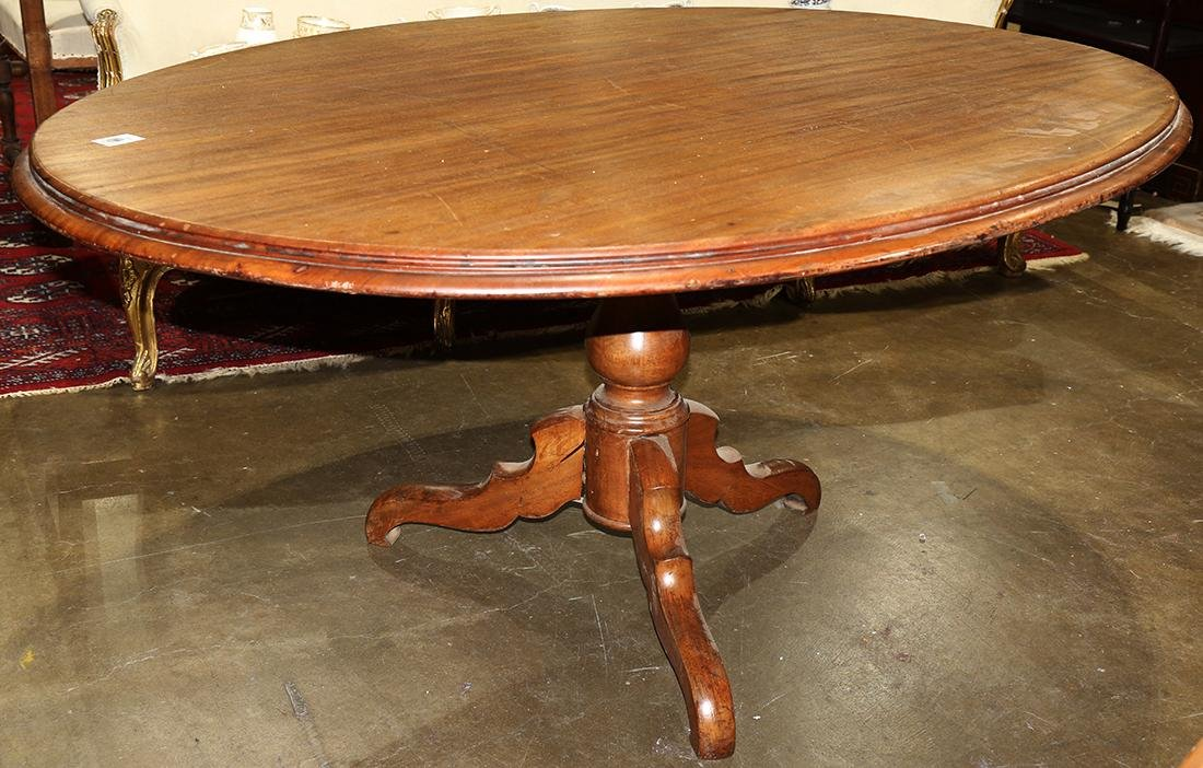 (lot of 7) Victorian walnut dining suite - 2