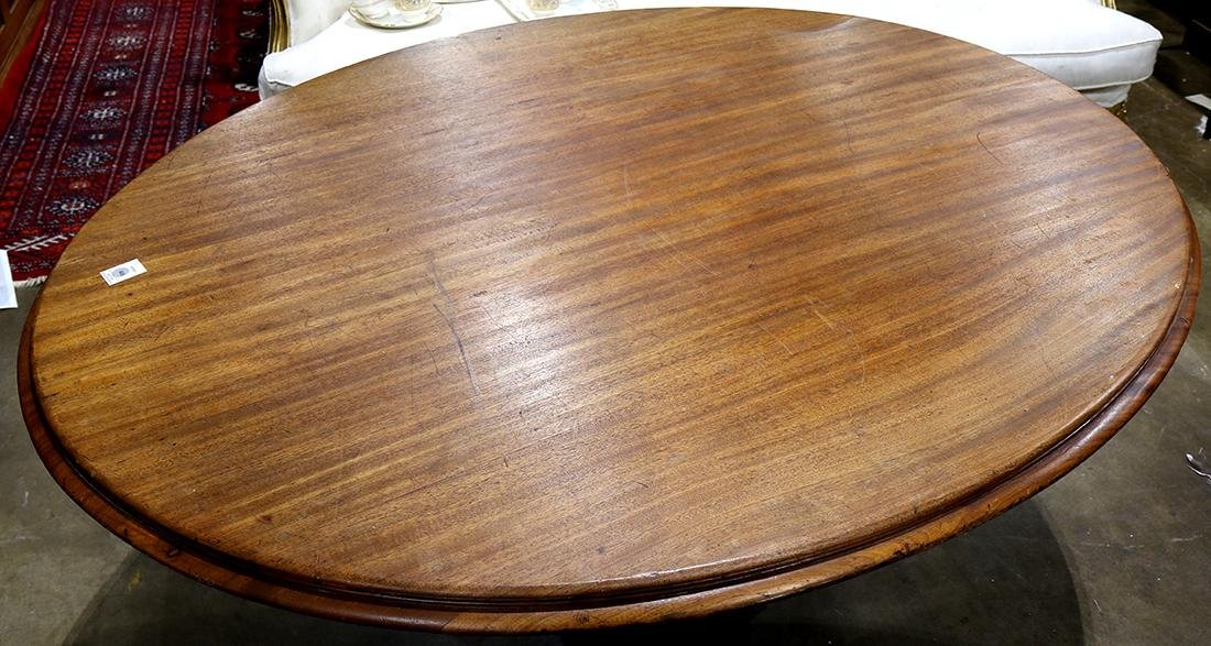 (lot of 7) Victorian walnut dining suite - 3