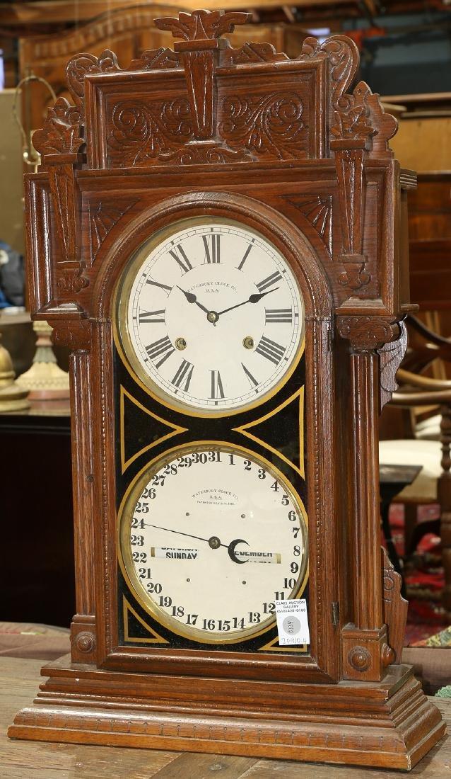 Waterbury Clock Co. calendar clock