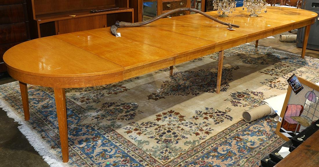 Mid-Century Modern maple center table