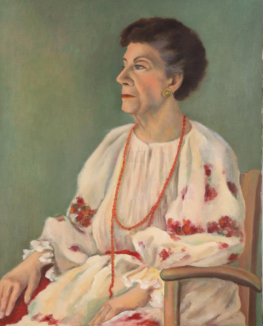 Painting, Portrait of a Seated Lady