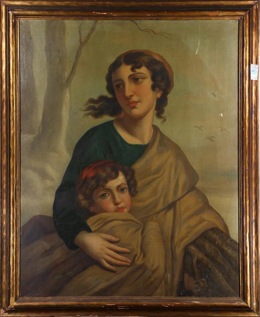 Painting, Mother and Child,