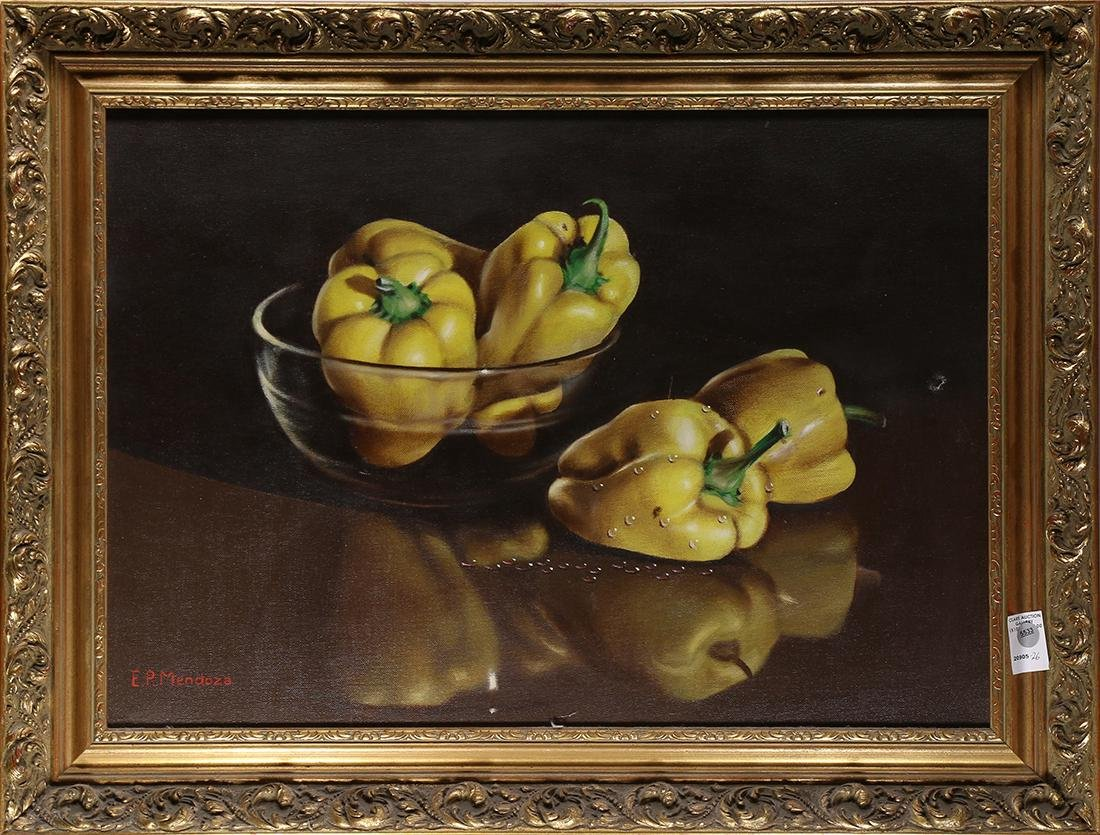Painting, Still Life with Yellow Peppers