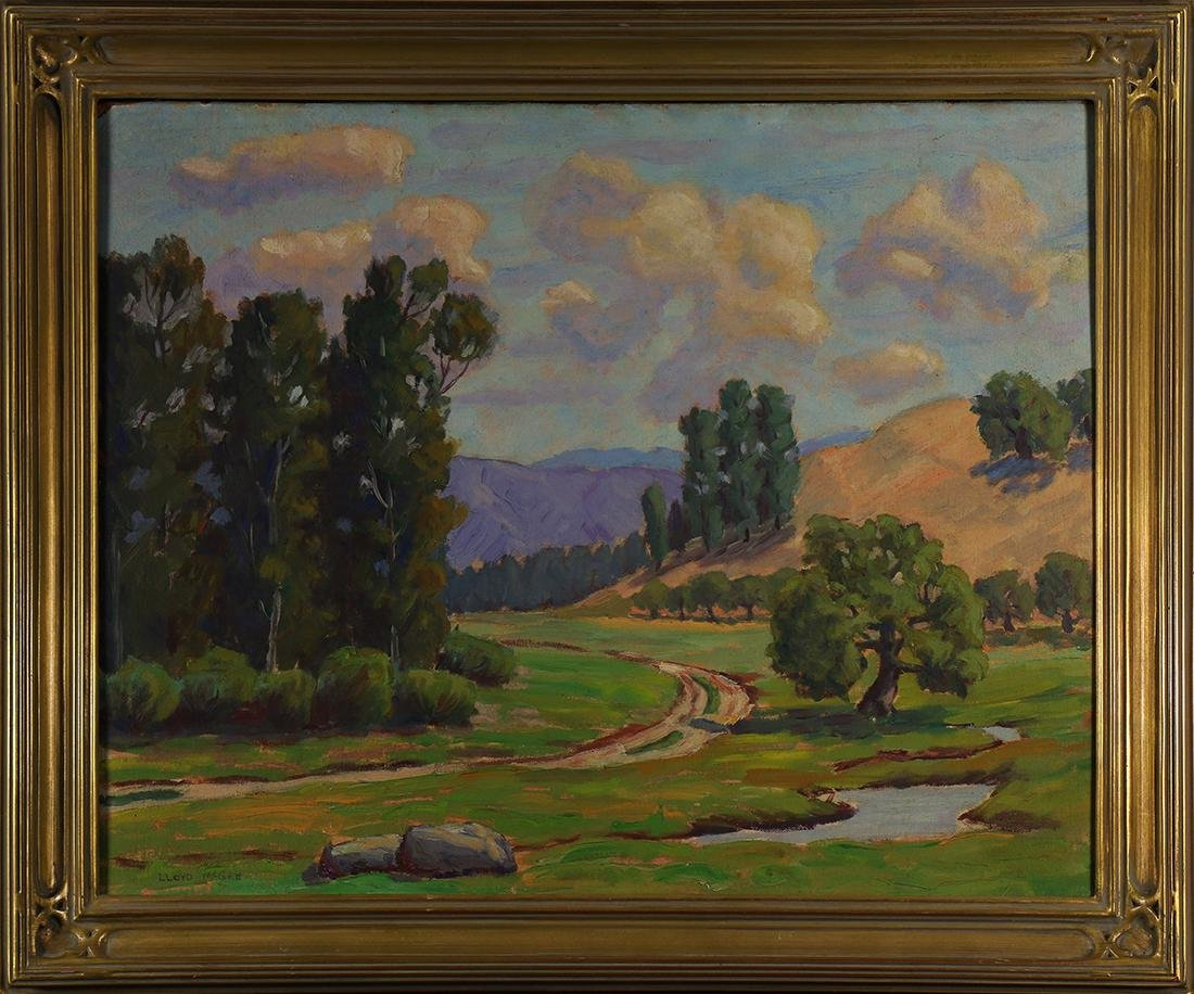 Painting, Lloyd McGee