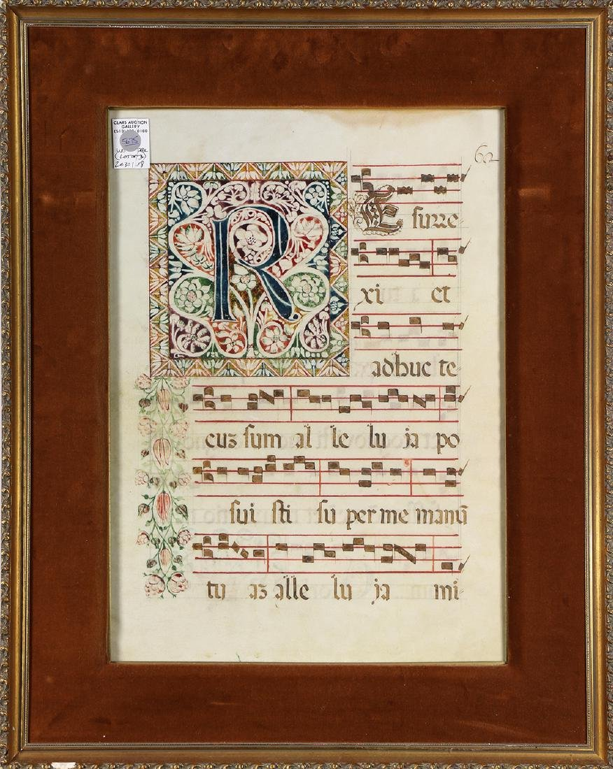 Hand Painted Antiphonaries