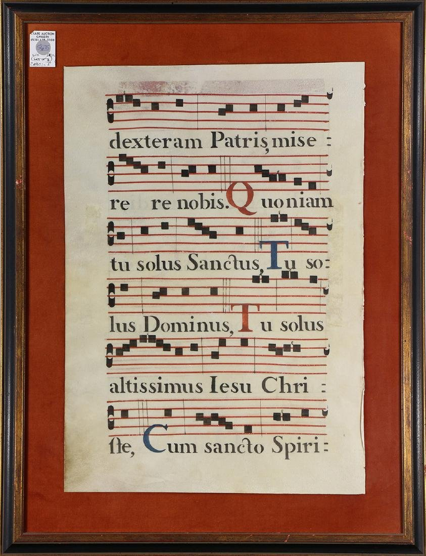 Hand Painted Antiphonaries - 2