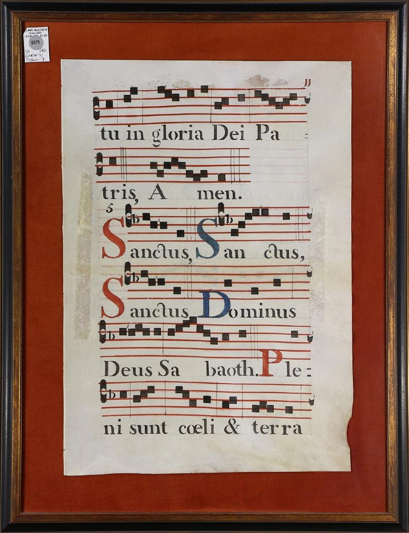 Hand Painted Antiphonaries - 3