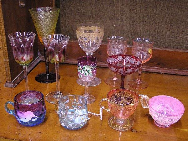 4109: Art Glass Stemware