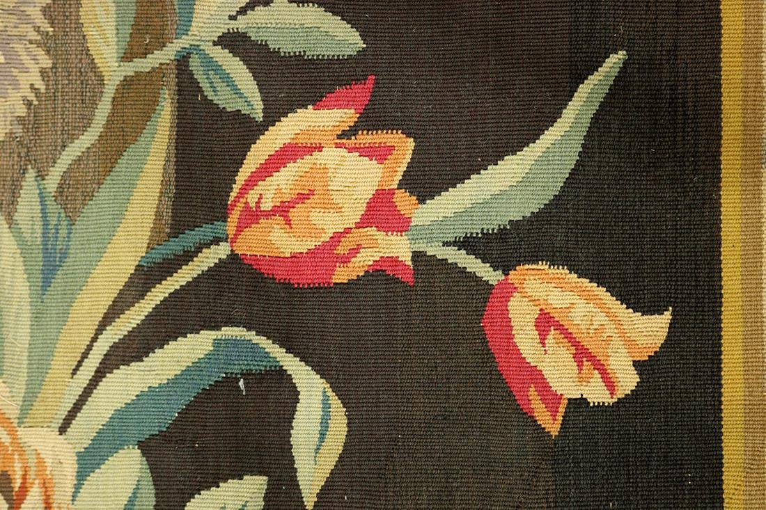 Continental Aubusson Entre-Fenetre woven tapestry - 3