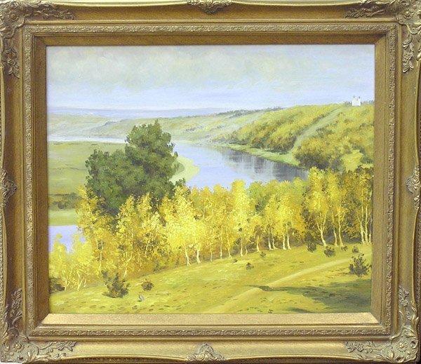 4006: Painting Landscape Contemporary