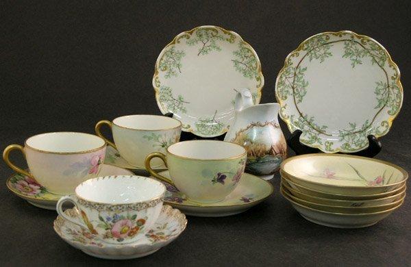 4014: Limoges porcelain Dresden