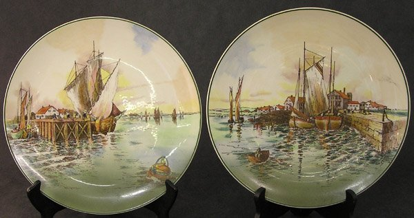 4020: Royal Doulton Home Waters plates
