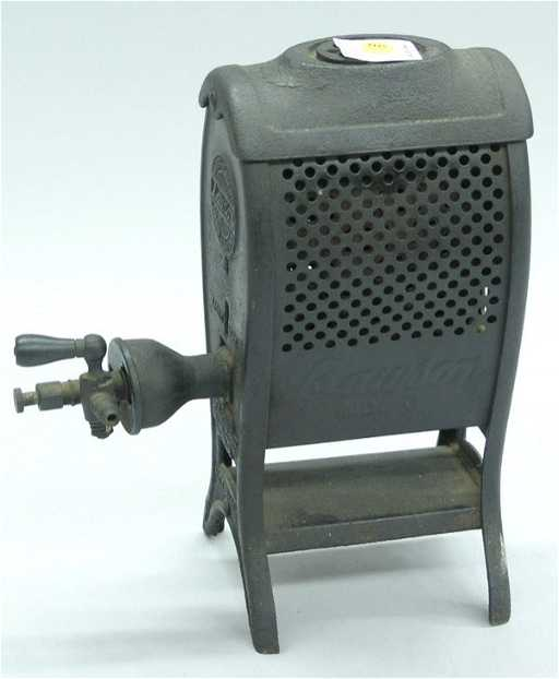 4445 Vintage Lawson Cast Iron Gas Heater See Sold Price