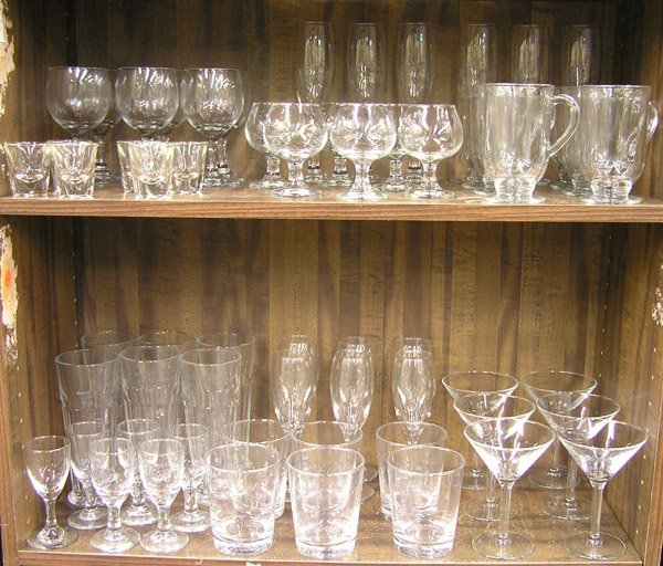 6211: Glassware barware pilsner brandy wine