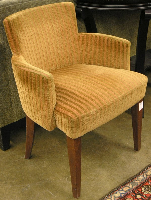 6223: Striped armchairs