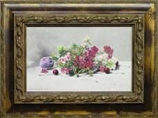 6423: Painting Gribennikov Russian Still Life