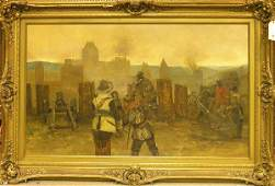 6481 Painting Claus Meyer German