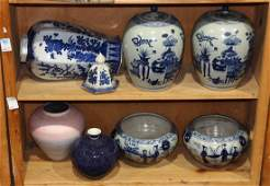 Chinese BlueandWhite Jars