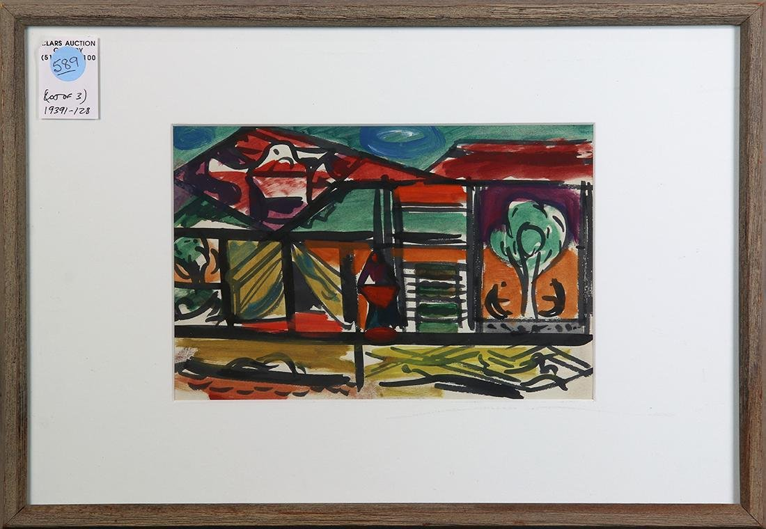 Works on paper by Erle Loran