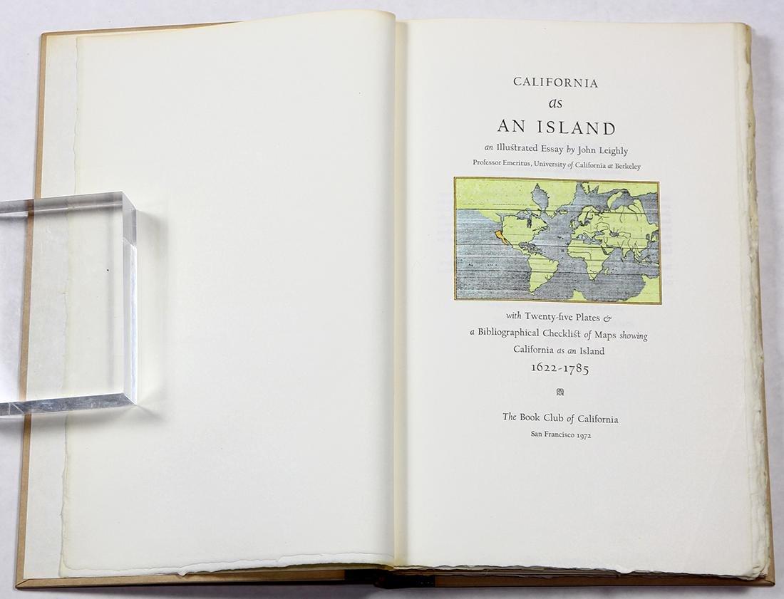 """""""California as an Island,"""" by John Leighly, S - 2"""