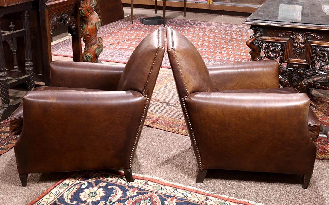 "Pair of Art Deco style Restoration Hardware ""Marcel"" - 2"