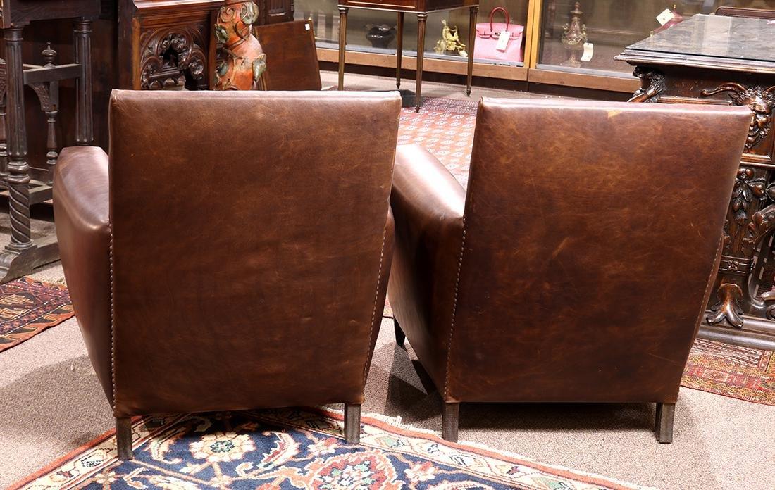 "Pair of Art Deco style Restoration Hardware ""Marcel"" - 3"