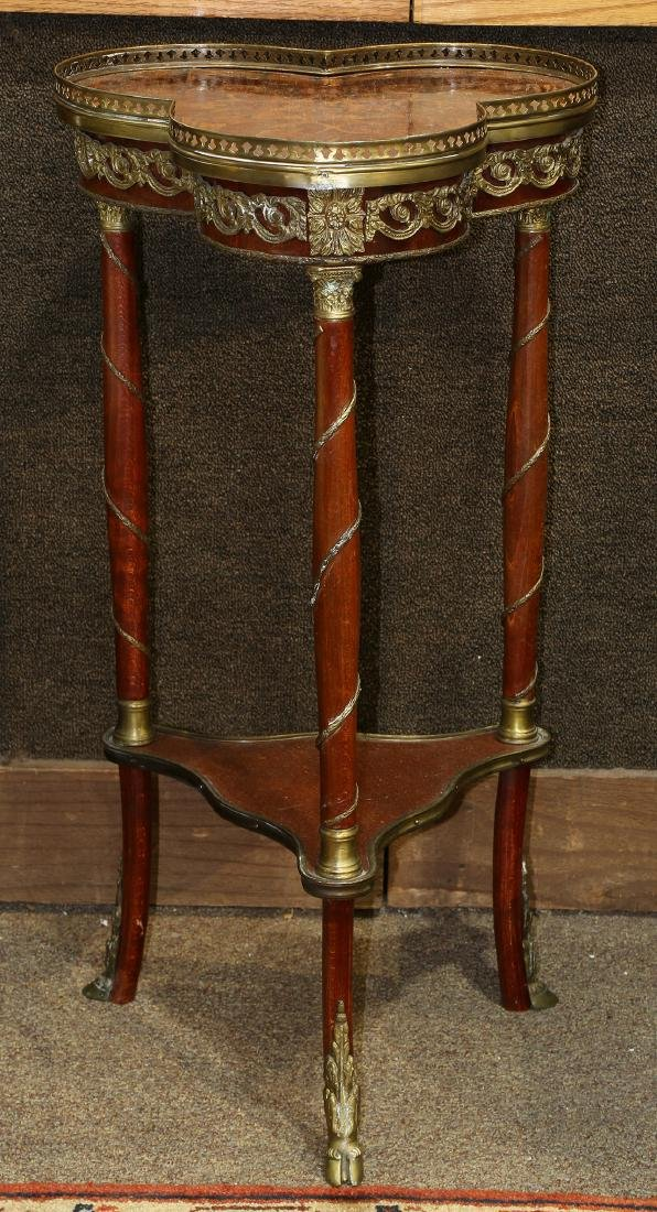 French bronze mounted occasional table