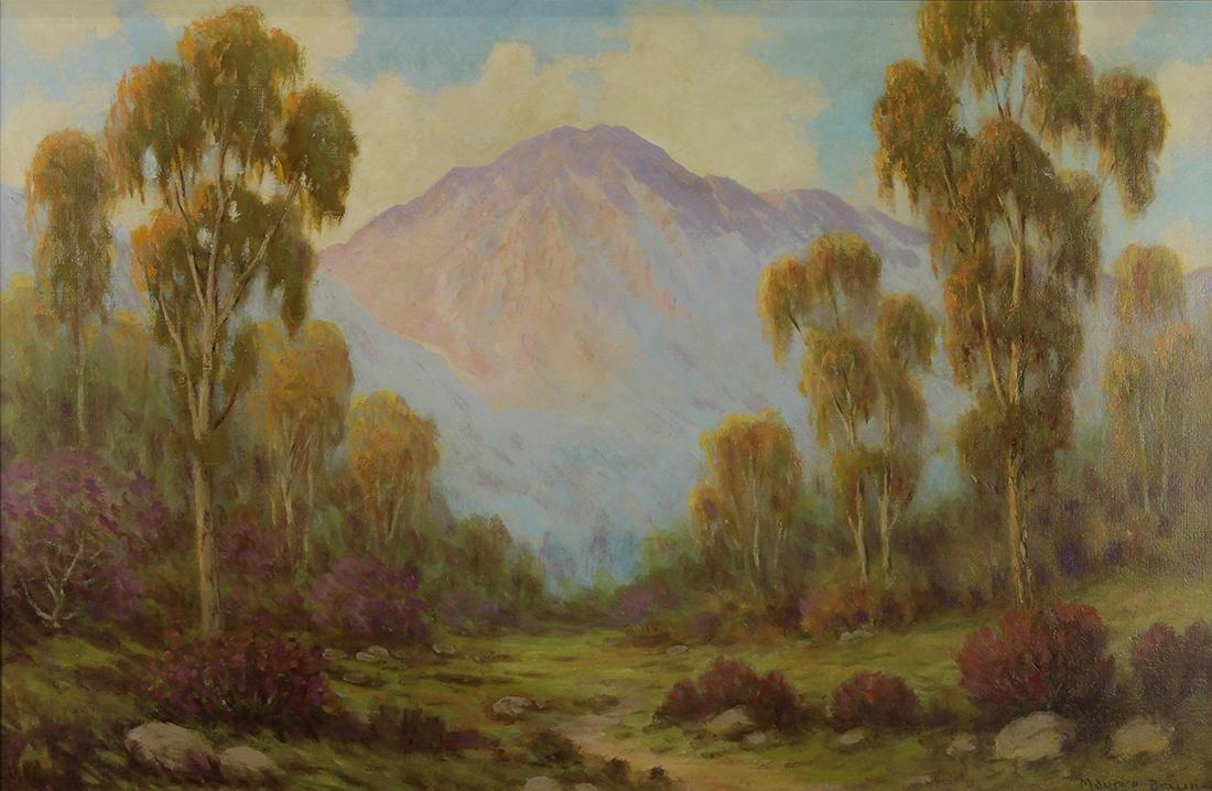 Painting, Maurice Braun
