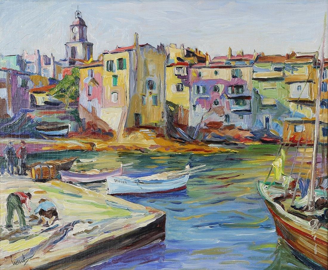 Painting, Edward Cucuel