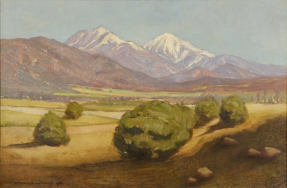 Painting, William Wendt
