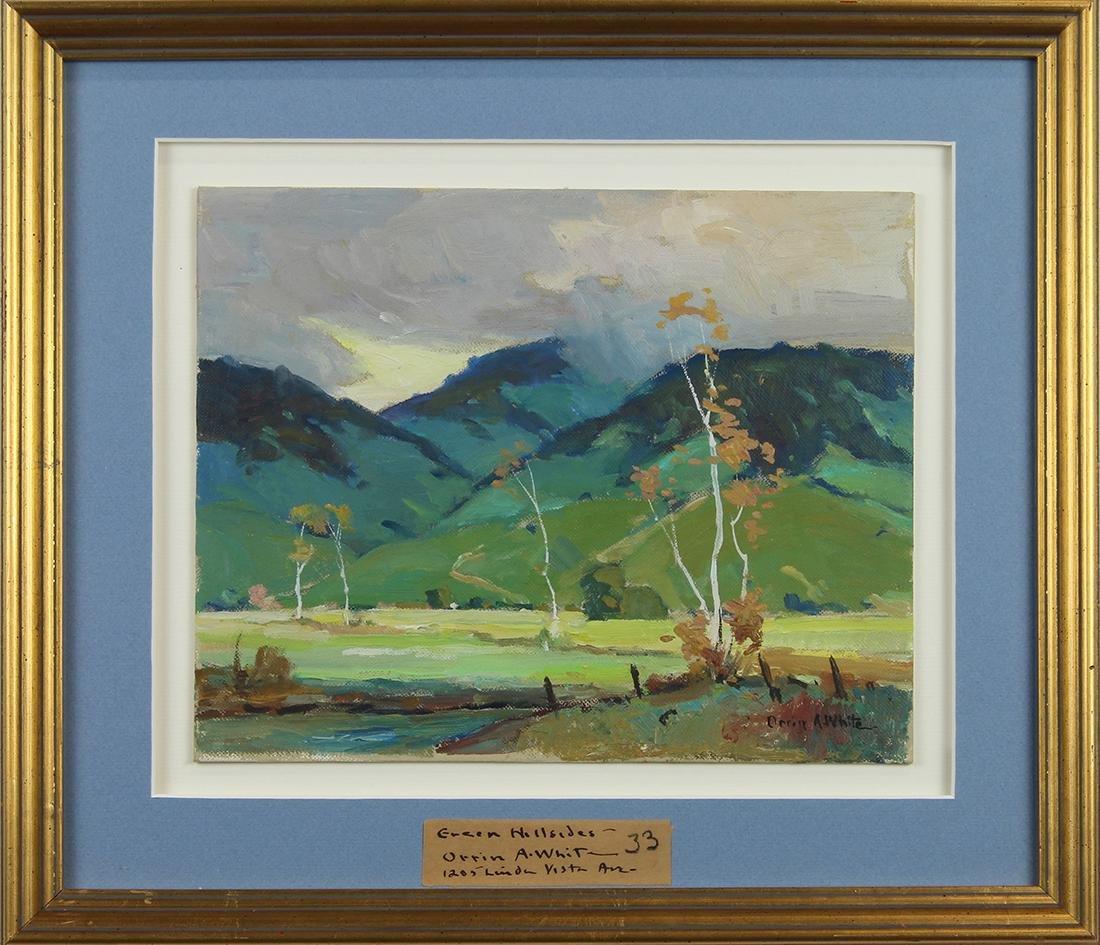 Painting, Orrin White - 2