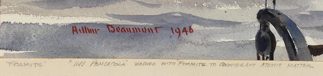 Watercolor, Arthur Beaumont - 4