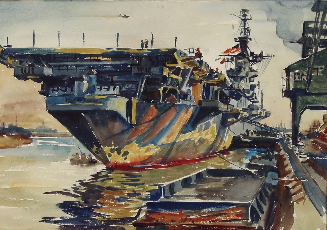 Watercolor, Arthur Beaumont
