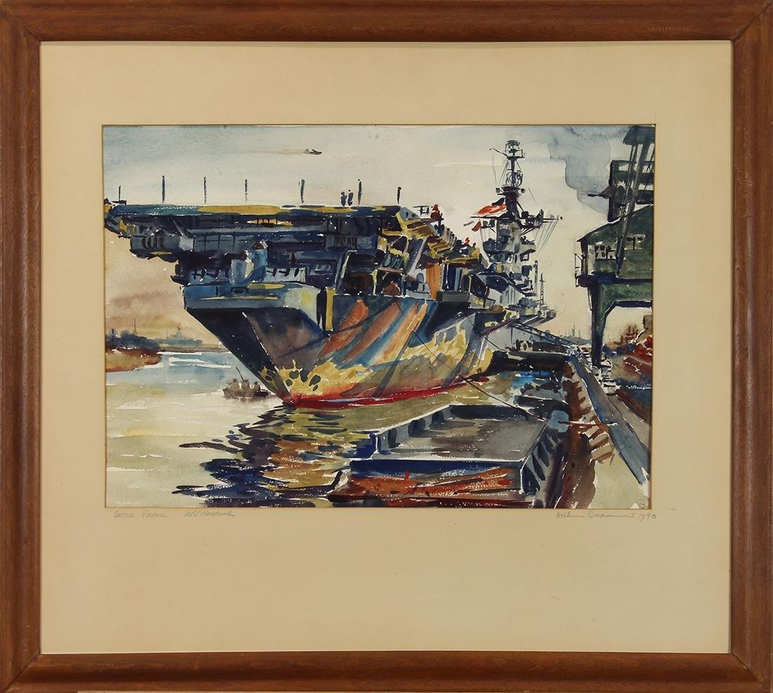 Watercolor, Arthur Beaumont - 2