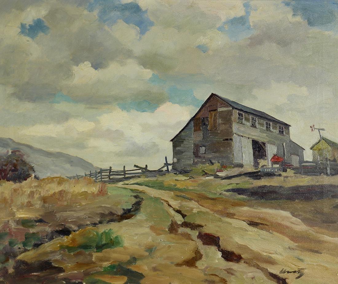 Painting, Roger Kuntz