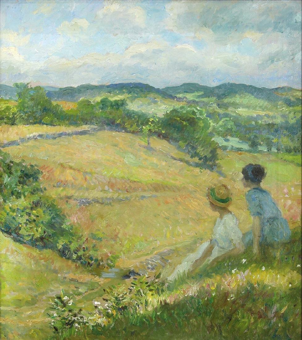 Painting, F. Luis Mora