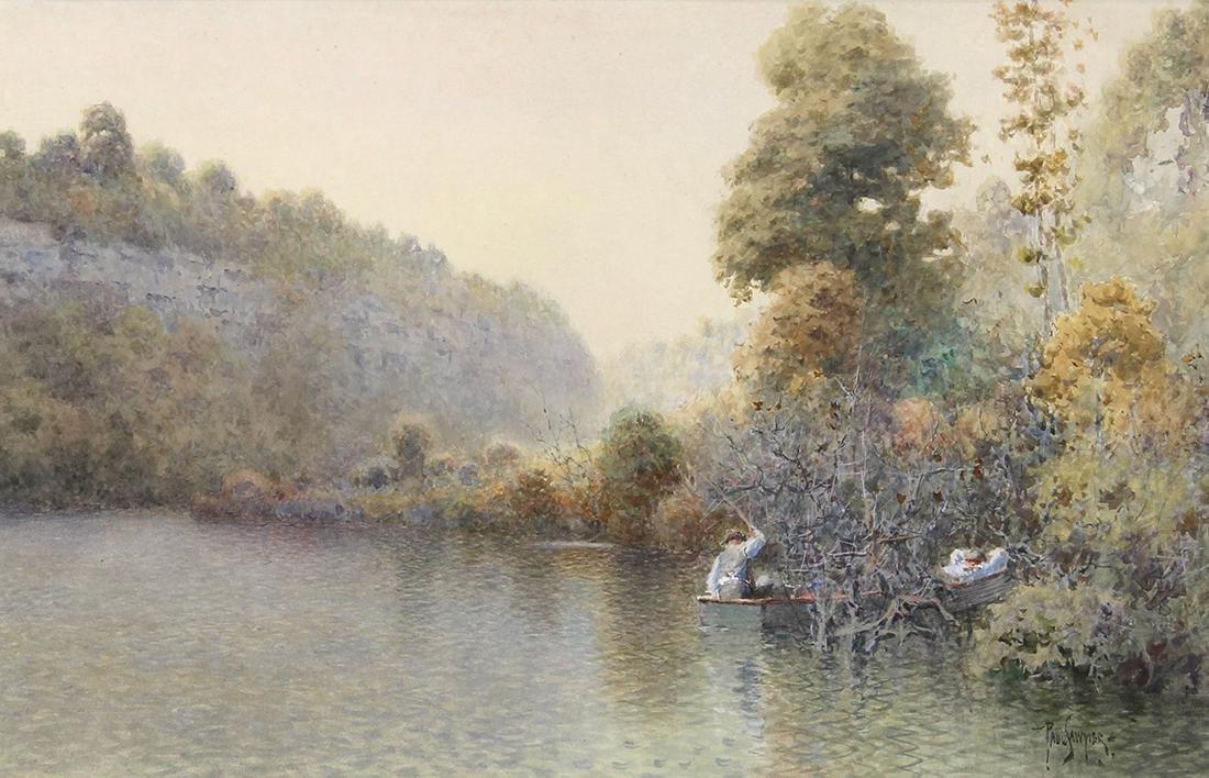 Watercolor, Paul Sawyier