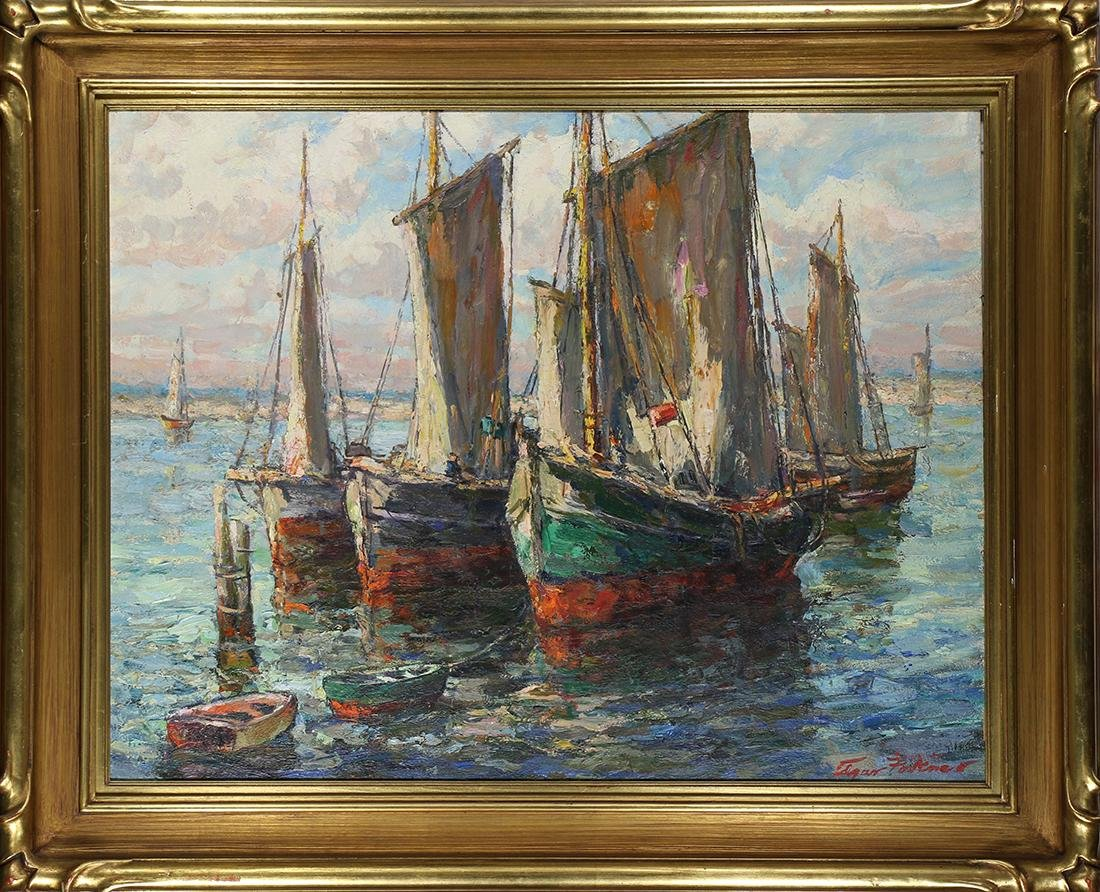 Painting, Edgar Forkner