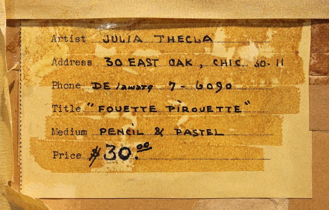 Pastel, Julia Thecla - 4