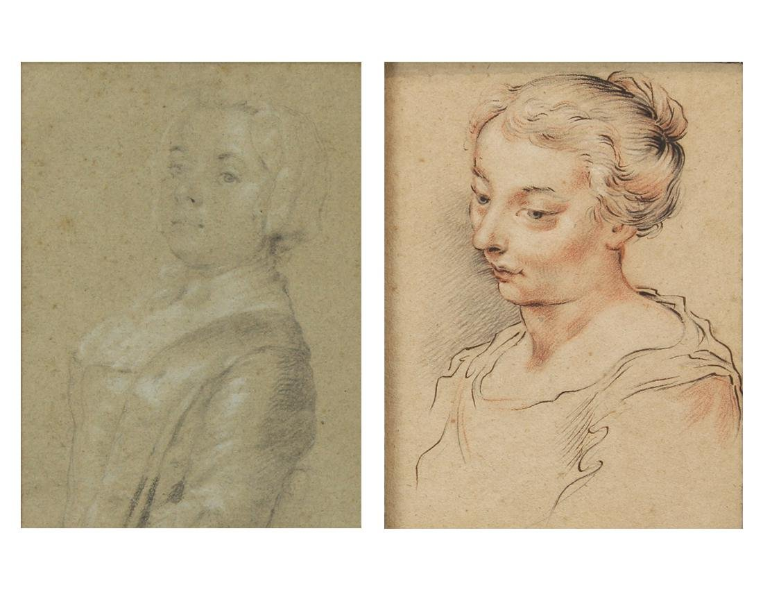 Works on paper, European School (18th century)